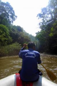 Rafting przez rzekę Mae Klong