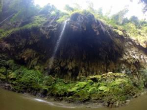 Wodospad przy rzece Mae Klong