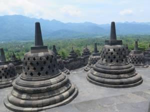 Borobudur - największa buddyjska świątynia na świecie.