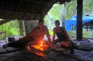 Romantyczna kolacja w dżungli