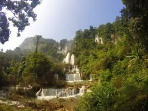 Wodospad Tee Lor Su