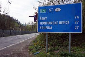 Stopa na granicy łapałam tak! :)
