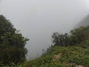 Później widzieliśmy tylko i wyłącznie mgłę :(