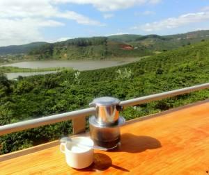 Najdroższa kawa świata plus widok idealny!