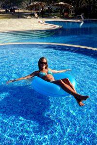 Relaks w basenie :)