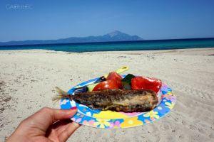 Jeśli rybka prosto z morza to tylko na plaży!
