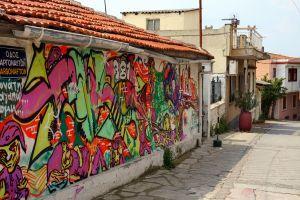 Murale w Salonikach też się znajdą