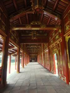 Pałacowy korytarz