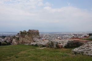 Ruiny na wzgórzu