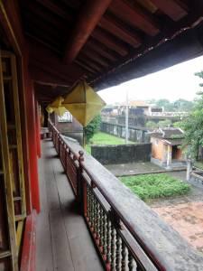 Widok ze świątyni