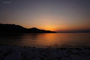 Pożegnanie z wyspą Thasos...