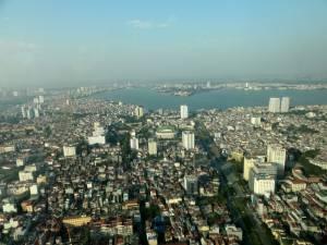 Widok na Ha Noi z Lotte