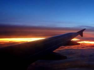 Pierwszy zachód słońca nad Bali!