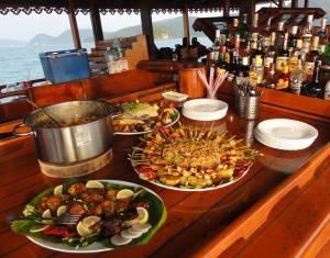Goście mogli jeść i pić do oporu... :)