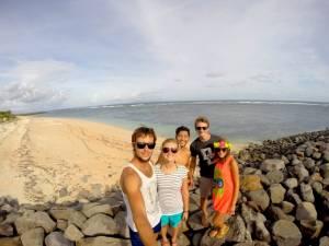Z naszym Hostem oraz Sebą i Monią z Klubu Podróżników BIT!
