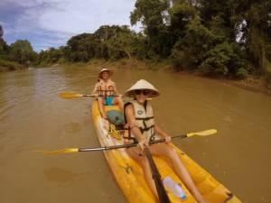 Kajakiem po Mekongu!