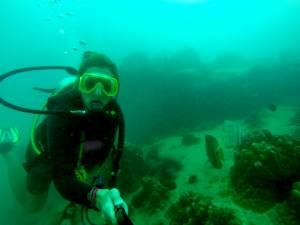 Na kilku(nastu) metrach głębokości czuję się, jak ryba w wodzie! :D