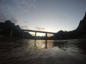 Most na rzece Nam Ou