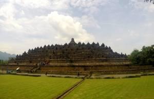 Borobudur w całej okazałości!
