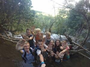 Polacy, Niemcy, Szwedzi i Brytyjki przesyłają piątki z wodospadu Kuang Si!