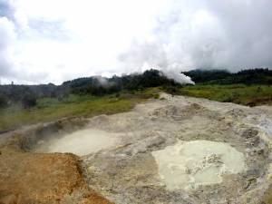 Fascynujący krater Sikidang