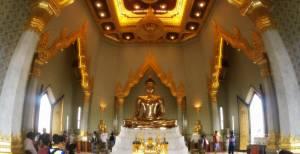 Złoty Budda w Wat Traimit