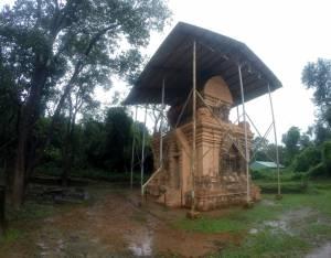 Jedna z rekonstruowanych świątyń
