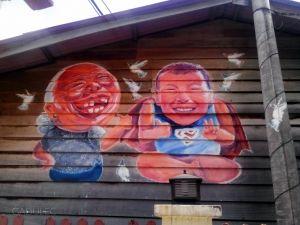 Wszechobecny street art