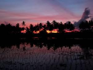 Najpiękniejsze zachody słońca są na Bali!