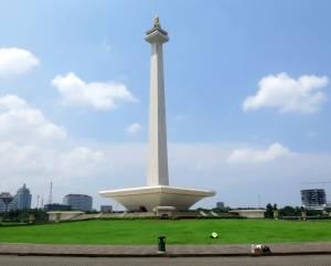 Jedyna atrakcja Dżakarty, którą odwiedziliśmy (godzinę przed naszym wyjazdem na lotnisko zrobiła się piękna pogoda...)