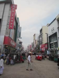 Jedna z ulic Kolombo