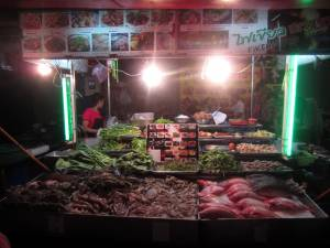 Smakołyki w chińskiej dzielnicy