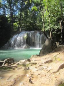 Wodospady Erawan