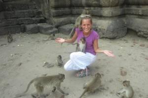 Gadulec w małpim gaju! ;)