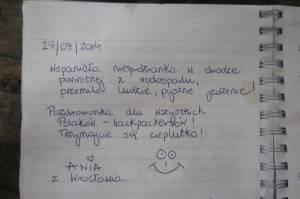 Miło było znaleźć wpis naszej koleżanki w księdze pamięci