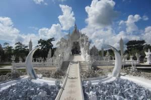 White Temple w Chiang Rai