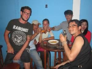 W laotańskim barze ;)