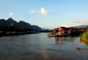 Cudowne widoki w Vang Vieng