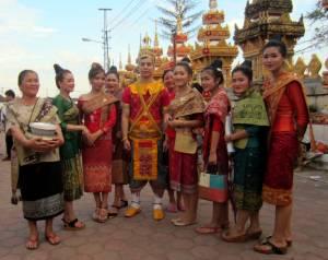 Większość zgromadzonych była ubrana w piękne tradycyjne stroje