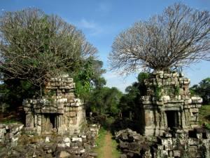 Świątynia na wzgórzu Phnom Bok