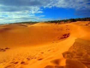 Prawie jak na czerwonej pustyni! ;)