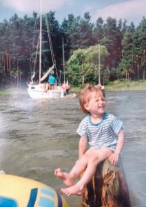 Mała Kinga, Mazury 1993r.