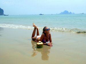 Plaża + kokos = pełnia szczęścia!
