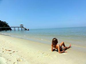 Cała plaża dla mnie!