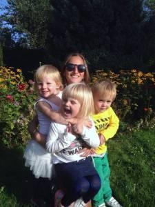 Potrójne Szczęście - od lewej Ninka, Emma I Dominic!