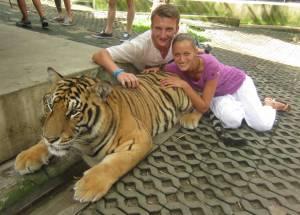 Gamońscy z tygrysem!