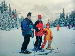 Z rodzicami, Chopok 1999r.