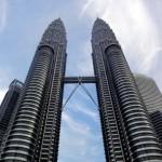 Wieże za dnia