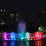Spektakl muzyczny koło Petronas Towers