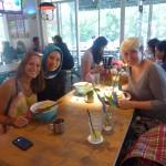 Pyszny lunch z Zulitą poznaną na wyspie Langkawi :)